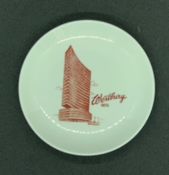 Cendrier Porcelaine Vintage. Westbury Hotel, Brussels - Porselein
