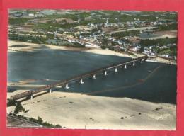 CPSM Grand Format - La France Vue Du Ciel...6 - Mauves Sur Loire  -(L.-Atl.)-  Le Pont Sur La Loire Au Fond Le Pays - Mauves-sur-Loire