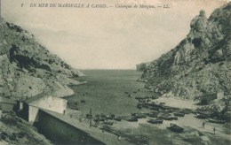 MARSEILLE - N° 1 - CALANQUE DE MORGIOU - Quatieri Sud, Mazarques, Bonneveine, Pointe Rouge, Calanques