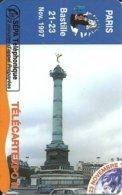France: SEPATel - TélécarteExpo Paris 1997, Place De La Bastille (Puzzle 3) - Frankreich