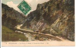 L80B_308 - Ollioules - 2 Les Gorges, La Route, Le Torrent Du D'Estel - Ollioules