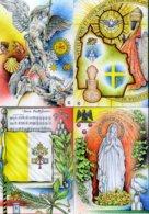 2019 Vaticano, Cartoline Postali 90° Ann. Fondazione Stato Della Città Del Vaticano Con Annullo F.D.C. - Postal Stationeries