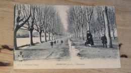 SOMMIERES : L'esplanade …... … NW-4264 - Sommières