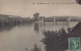 Hardricourt : Vue Sur Le Grand Barrage - Hardricourt
