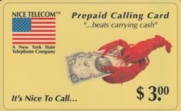 PREPAID PHONE CARD STATI UNITI (E52.1.2 - Verenigde Staten