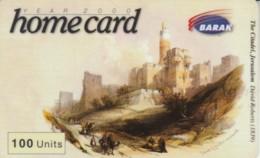 PREPAID PHONE CARD ISRAELE (E52.11.1 - Israele