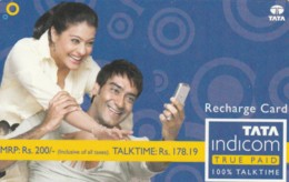 PREPAID PHONE CARD INDIA (E52.12.4 - Inde