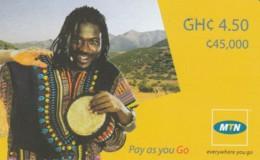 PREPAID PHONE CARD GHANA (E52.4.1 - Ghana