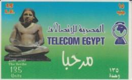 PREPAID PHONE CARD EGITTO (E52.10.1 - Aegypten