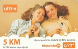 PREPAID PHONE CARD BOSNIA HERZEGOVINA (E52.16.4 - Bosnia