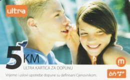 PREPAID PHONE CARD BOSNIA HERZEGOVINA (E52.16.2 - Bosnia
