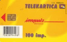 PHONE CARD SLOVENIA (E52.8.1 - Slovenië