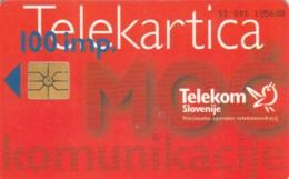 PHONE CARD SLOVENIA (E52.4.5 - Slovénie