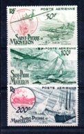 St Pierre Et Miquelon  PA N° 18 * + 19 ** + 20 **  A Saisir !!! - Unused Stamps