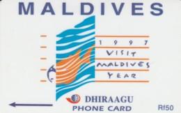 PHONE CARD MALDIVE (E52.7.2 - Maldiven