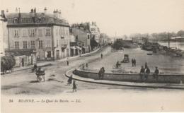 42 Roanne  Le Quai Du Bassin - Roanne