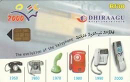PHONE CARD MALDIVE (E52.6.3 - Maldiven