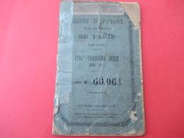 Livret D'Epargne/ Caisse D'Epargne Et De Prévoyance De PARIS/ Rouxel  Eugéne/ 1895                 VPN279 - Ohne Zuordnung