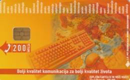PHONE CARD BOSNIA HERZEGOVINA (E52.19.5 - Bosnia