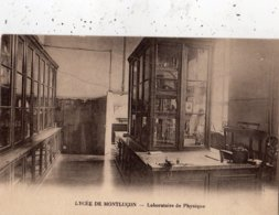 LYCEE DE MONTLUCON LABORATOIRE DE PHYSIQUE - Montlucon