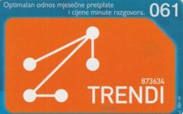 PHONE CARD BOSNIA HERZEGOVINA (E52.17.5 - Bosnië
