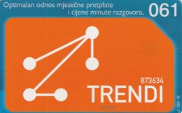 PHONE CARD BOSNIA HERZEGOVINA (E52.17.5 - Bosnia