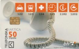 PHONE CARD BOSNIA HERZEGOVINA (E52.17.4 - Bosnia