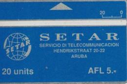 PHONE CARD ARUBA (E52.2.3 - Aruba