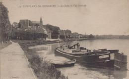 Conflans Saint Honorine : La Seine Et Vue Générale - Conflans Saint Honorine