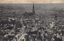 France CPA 67 Strasbourg - Strassburg Straatsburg  Vue Du Ballon De 220 M     L 1526 - Strasbourg