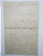CHAUDRONNIER FERBLANTIER - LEON GUIBERT à Champlemy (58) Lettre à Entête Du 30/10/1899 - Petits Métiers