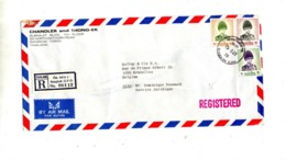 Lettre Recommandée Bangkok Sur Roi - Thaïlande