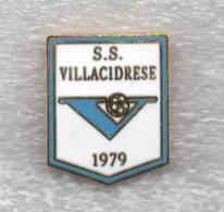 S.S. Villacidrese Calcio Villacidro Carbonia Distintivi FootBall Sport Pins Sardegna Spilla - Calcio