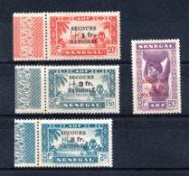 Sénégal  N° 173 à 176 **  A Saisir !!! - Senegal (1887-1944)