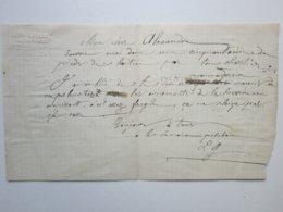 CHAUDRONNIER FERBLANTIER - LEON GUIBERT à Champlemy (58) Lettre à Entête - Petits Métiers