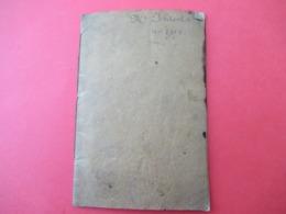 Livret D'Epargne/ Société De Prévoyance Et De Secours Mutuels Des Asaciens-Lorrains/ICHTERTZ Victor/ 1898         VPN280 - Ohne Zuordnung