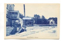 Villagarcia - Ferrazo - Old Spain Postcard - Pontevedra