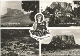 W5048 Castelnovo Ne' Monti (Reggio Emilia) - Santuario Della Madonna Di Bismantova - Multipla / Viaggiata 1962 - Andere Steden
