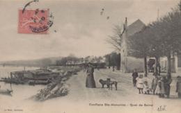 Conflans Saint Honorine : Quai De Seine - Conflans Saint Honorine