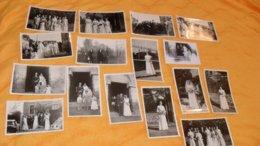 LOT DE 31 PHOTOS ANCIENNES DATE ?.../ EVENEMENT MARIAGE... - Personnes Anonymes