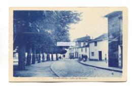 Villagarcia - Calle Del Mercado - Old Spain Postcard - Pontevedra
