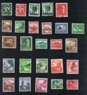 1938 Jahrgang Mi DR 660 - 685 Sn DE B116 - B133 Yt DR 603 - 626  Sg DR 648 - 673 Gut Gest. O - Deutschland
