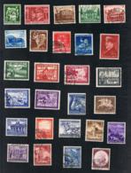 1941 Jahrgang Mi DR 762 - 810 Sn DE B188 - B200 Yt DR 686 - 734 Sg DR 750 - 796 769 Mit PF I Gut Gest. O Siehe Scan - Deutschland