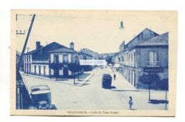 Villagarcia - Calle De Vista Alegre - Old Spain Postcard - Pontevedra