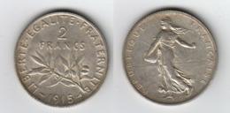 France 2 Francs 1915  2F - I. 2 Francs