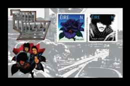 Ireland 2019 Mih. 2337/38 (Bl.116) Music. Iconic Irish Rock Band Thin Lizzy MNH ** - 1949-... Republik Irland