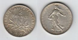 France 2 Francs 1917  2F - I. 2 Francs