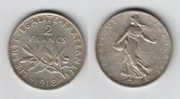 France 2 Francs 1918  2F - I. 2 Francs