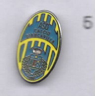 A.S.D. BIiancavilla Calcio Distintivi FootBall Pins Catania Sicilia Spilla - Calcio