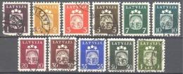 Lettonie; Yvert N° 248/255 - Lettland